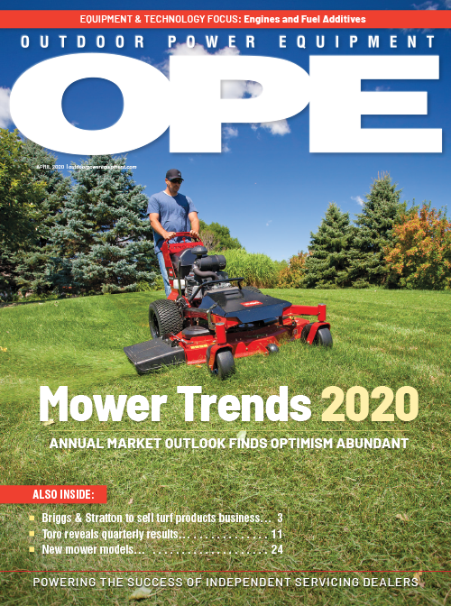 Outdoor Power Equipment April 2020